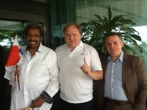 Владимир Хрюнов и Дон Кинг договорились о проведении боя Лебедев-Джонс в Москве