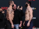 Фото: Взвешивание участников UFC Fight Night 186