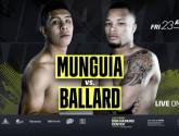 Хайме Мунгиа проведет бой против Балларда 23 апреля