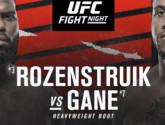 Состав пар турнира UFC Fight Night 186
