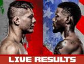 Результаты турнира UFC on ABC 2