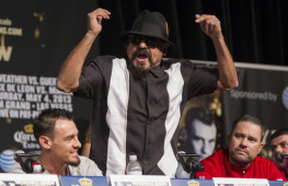 Рубен Герреро: Пусть Анхель Гарсия ведет себя прилично, иначе я его ударю