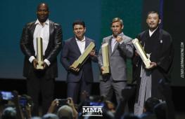 Фото: Церемония включения в Зал Славы UFC