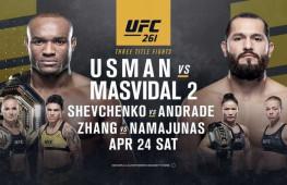 Прямая трансляция UFC 261. Где смотреть?