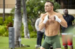 Фото: Открытая тренировка бойцов Bellator