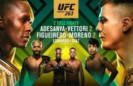 Прямая трансляция UFC 263. Где смотреть?