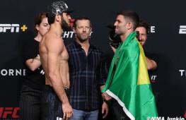 Фото: Взвешивание участников UFC on ESPN 26