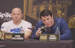 FSNews: Федор отвечает Соннену, Санчес считает, что Уорд победит Ковалева