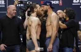 Фото: Взвешивание участников UFC 246