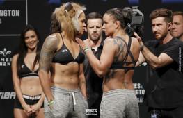 Фото: Взвешивание участников UFC 224