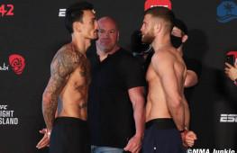 Фото: Взвешивание участников UFC on ABC 1