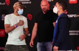 Фото: Взвешивание участников UFC on ESPN+ 30