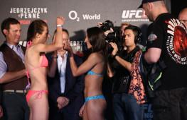 Фото: Взвешивание UFC Fight Night