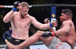 Медицинские отстранения участников турнира UFC Fight Night 184