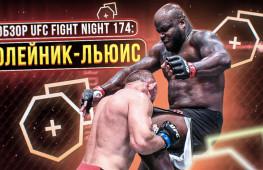Обзор UFC Fight Night 174: Олейник-Льюис, Ахмедов-Вайдман (видео)