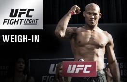 Видео: Взвешивание участников UFC on Fox 27