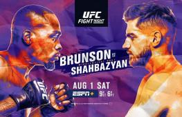 Прямая трансляция UFC Fight Night 173