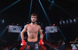 Хасан Магомедшарипов успешно дебютировал в Bellator