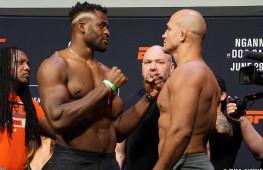Фото: Взвешивание участников UFC on ESPN 3