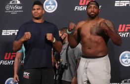 Фото: Взвешивание участников  UFC on ESPN 8