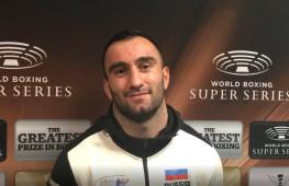 Реакция Мурата Гассиева на победу нокаутом над Влодарчиком (видео)