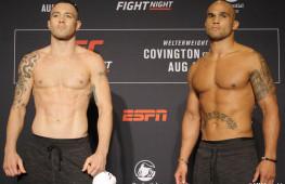 Фото: Взвешивание участников UFC on ESPN 5
