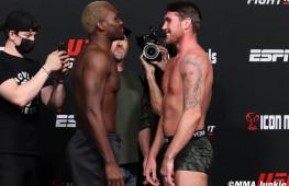 Фото: Взвешивание участников UFC Fight Night 191