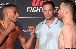 Фото: Взвешивание участников UFC on ESPN 2