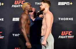 Фото: Взвешивание участников  UFC Fight Night 173