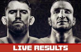 Результаты турнира UFC on ESPN 27