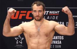 Алексей Кунченко выступит 10 августа на шоу UFC в Уругвае