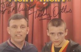 Кадр дня: Тедди Атлас с юным Джо Смитом-младшим
