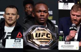 Пресс-конференция UFC 259: Петр Ян, Исраэль Адесанья, Ян Блахович (видео)