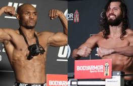 Взвешивание UFC 261: Усман-Масвидаль 2 | Шевченко-Андраде | Жанг-Намаюнас (видео)