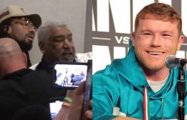 Конфликт между Канело и Деметриусом Андрейдом на пресс-конференции (видео)