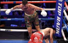 Супер бой Тейлор-Рамирес: Зрелищный нокдаун, результат | Слова после боя