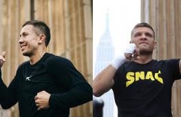Открытая тренировка Головкин-Деревянченко | Экс-чемпиона укусил ядовитый паук (видео)