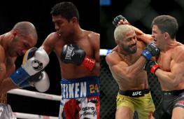 Обзор боев: Гарсия-Варгас, нокаут Гонсалес-Яфаи, скандальная остановка боя в UFC (видео)