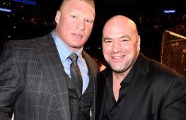 Президент UFC готов дать Броку Леснару бой с Джоном Джонсом