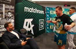 Хирн: Канело бросит вызов полутяжеловесам, хочет боксировать по всему миру