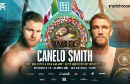 Канело Альварес и Каллум Смит будут боксировать за пояса WBA, WBC и The Ring