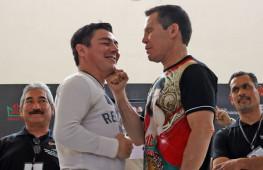 Хулио Сезар Чавес и Хорхе Арсе проведут третий показательный бой