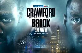 Теренс Кроуфорд проведет поединок против Келла Брука 14 ноября