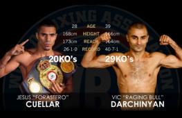 Sportingbet: Хесус Куэллар — явный фаворит в бою с Дарчиняном