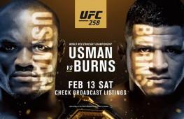 Результаты турнира UFC 258
