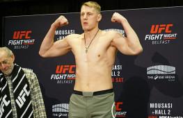 Взвешивание UFC Fight Night 99: Волков —113 кг, Джонсон —120 кг