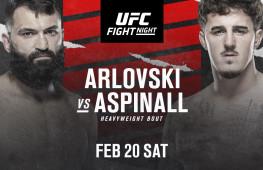Андрей Орловский встретится с Томом Аспиналлом 20 февраля