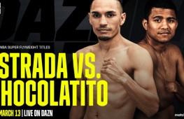 Матч-реванш Хуана Эстрады и Романа Гонсалеса состоится 13 марта