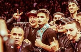 Райан Гарсия и Хорхе Линарес побеждают нокаутами
