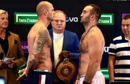 Гассиев оказался тяжелее Валлиша на 4 кг